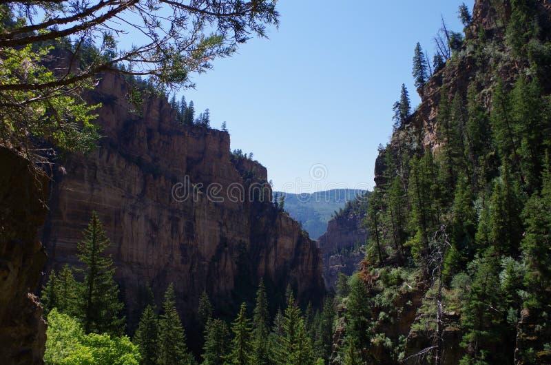 Каньоны Колорадо стоковые фотографии rf