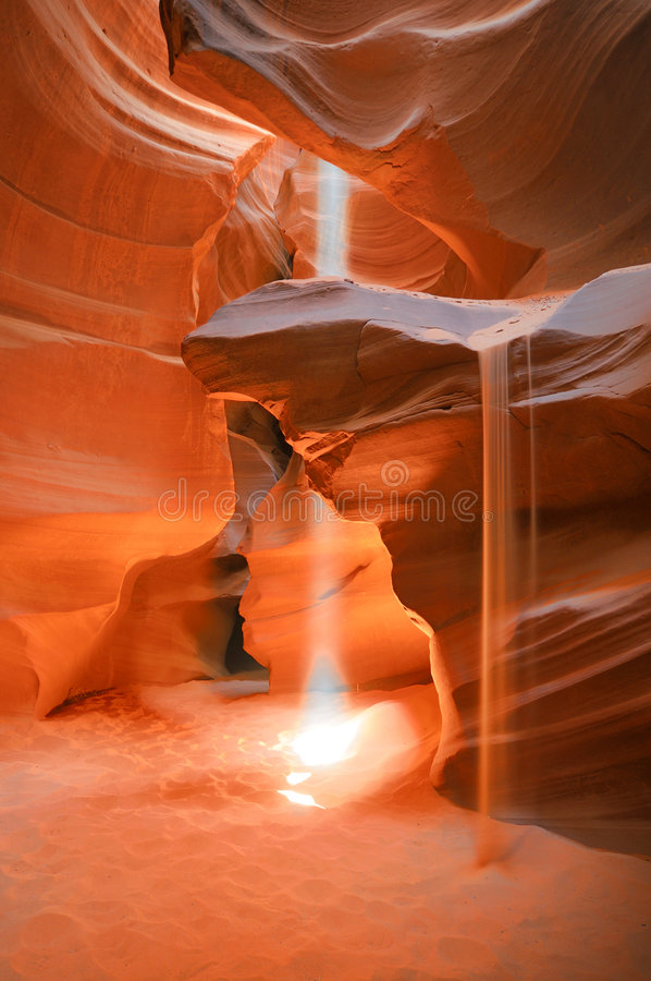 каньон антилопы стоковая фотография