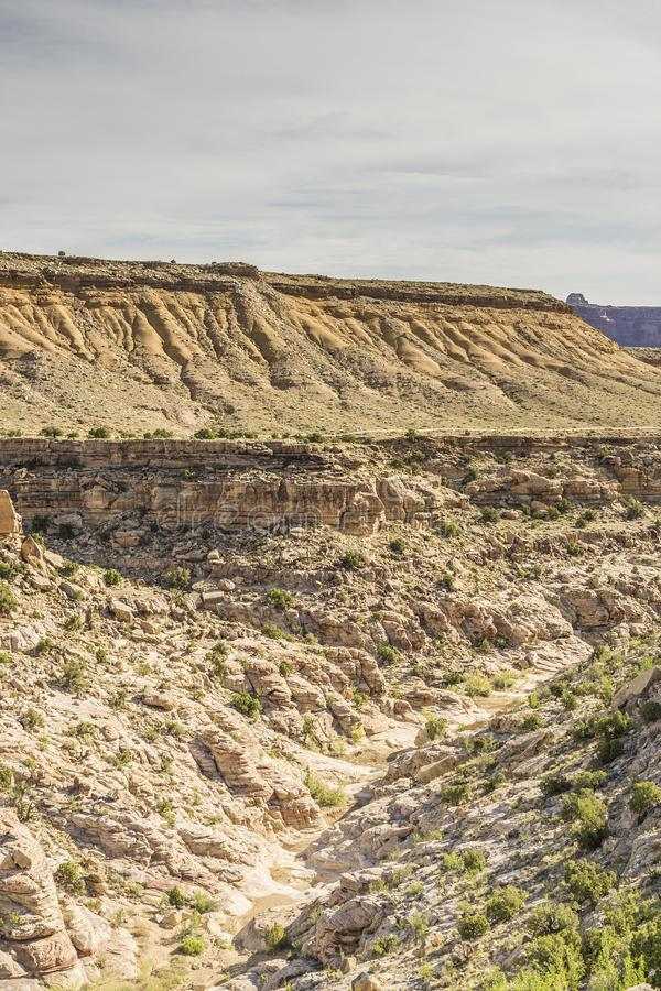 Каньон внутри черного каньона дракона стоковые изображения rf