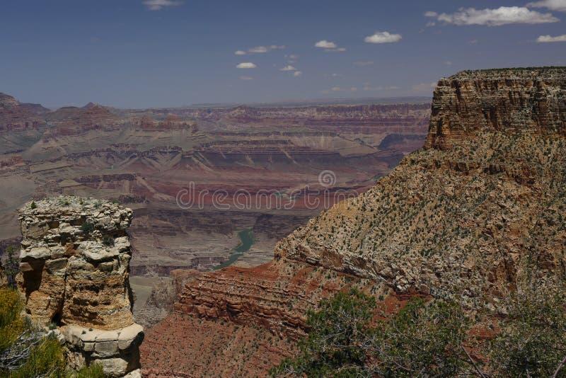 каньон грандиозные США стоковое изображение rf