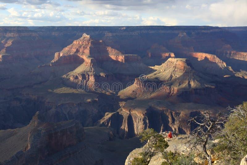 каньон грандиозные США стоковые изображения rf