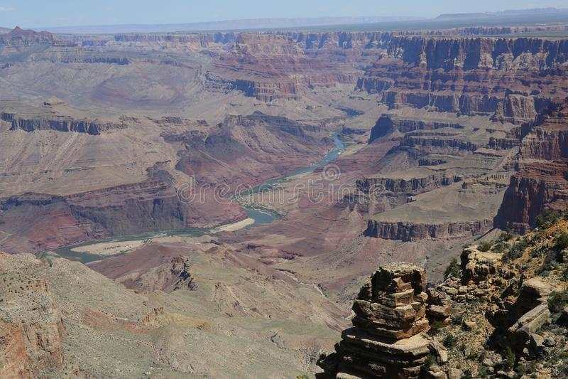 каньон грандиозные США стоковое фото rf