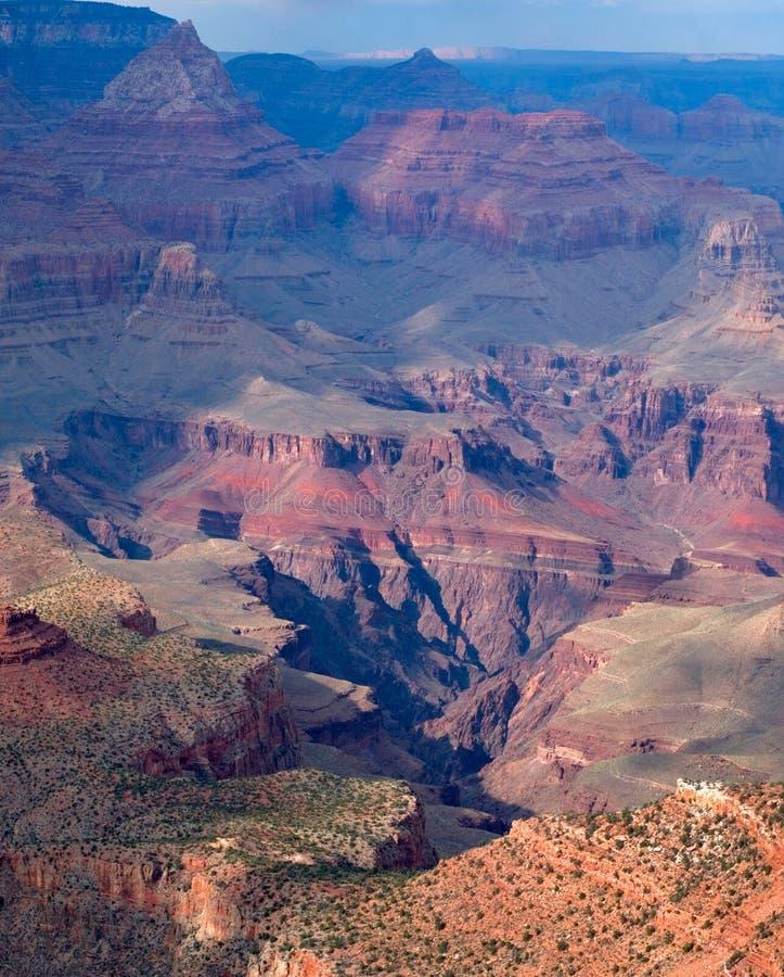 каньон грандиозный np стоковое фото