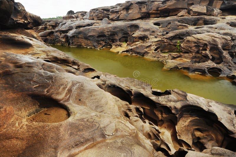 каньон грандиозный phan sam bhok стоковое изображение rf