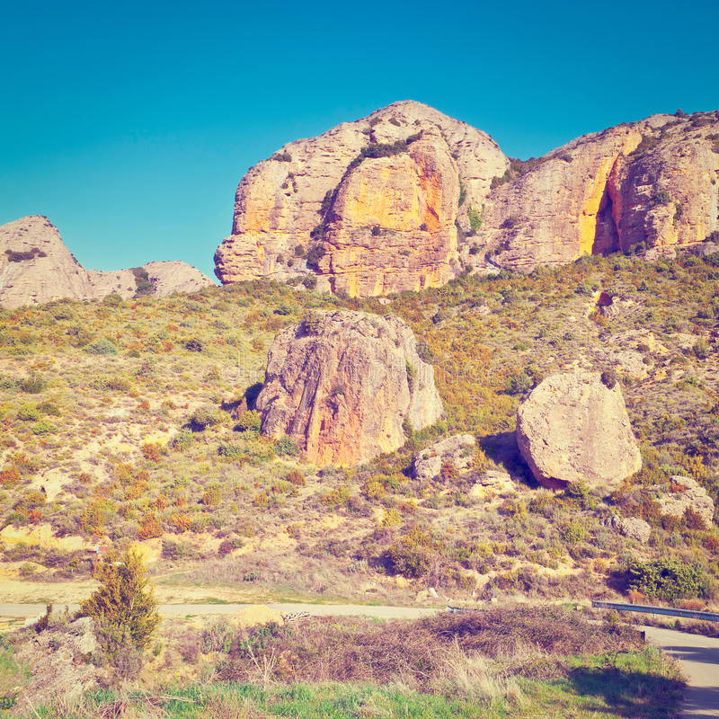 Download каньон Испания стоковое изображение. изображение насчитывающей дорога - 41657285