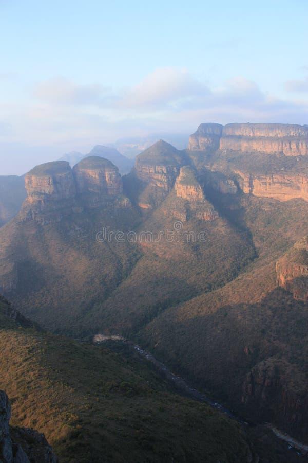 Каньон Мпумаланга Южная Африка реки Blyde стоковая фотография rf
