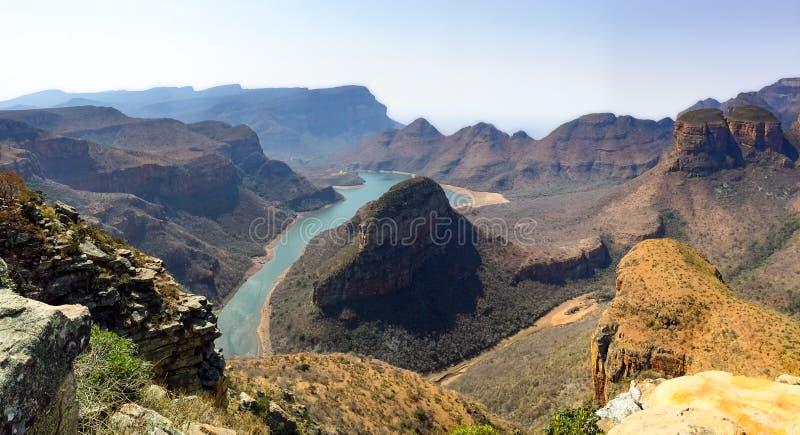 Каньон реки Blyde, Мпумаланга, Южная Африка стоковая фотография