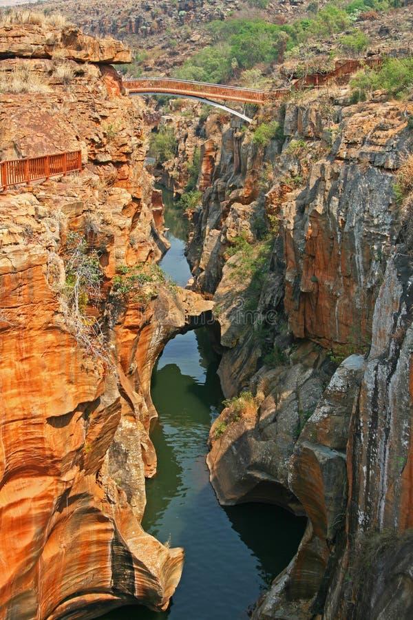 Каньон реки Blyde, Южная Африка стоковые изображения