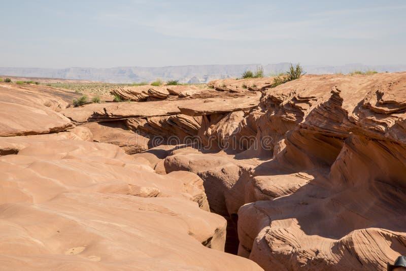 Каньон шлица в Аризоне стоковые фотографии rf