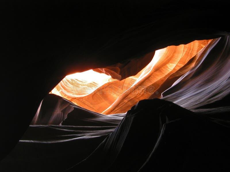 каньон 3 антилоп внутрь стоковая фотография