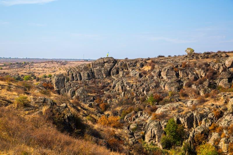 Каньон Aktovsky стоковое изображение