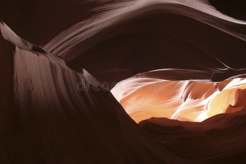 каньон antrlope иллюстрация штока