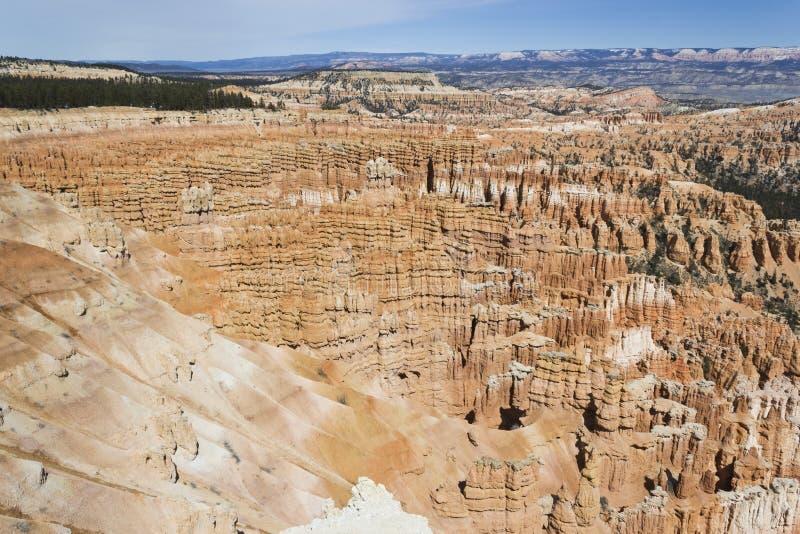 Каньон Bryce от юга стоковое фото rf