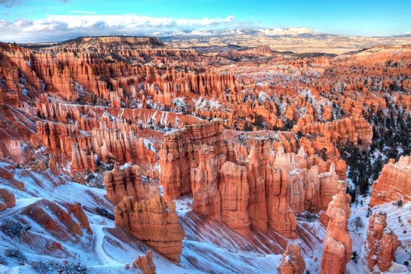 каньон bryce стоковое фото