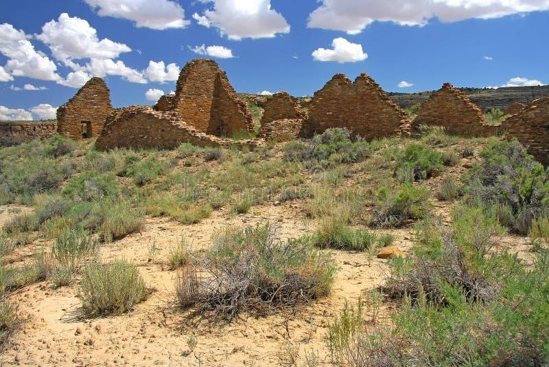 Каньон Chaco стоковое изображение rf