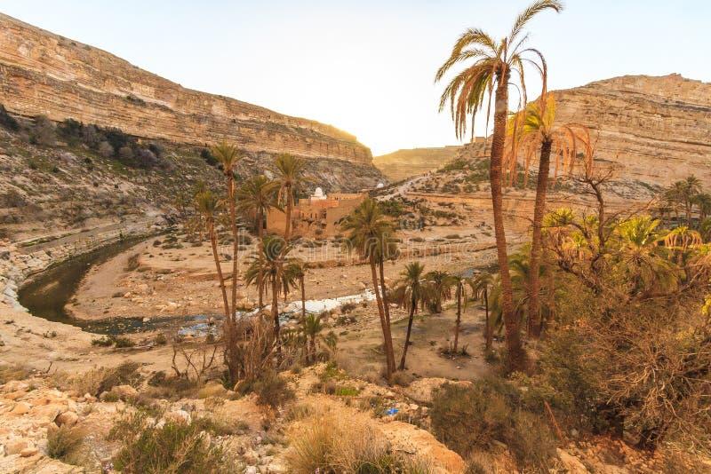Каньон Ghoufi стоковая фотография rf