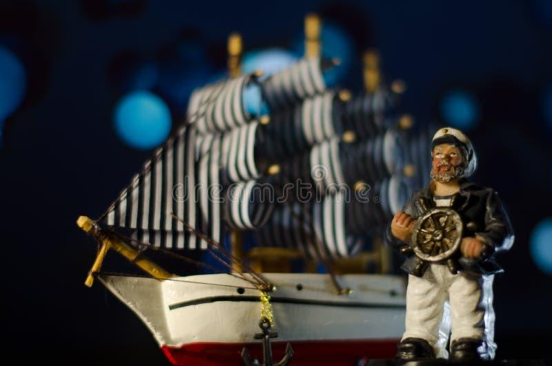 Капитан игрушки стоковое фото