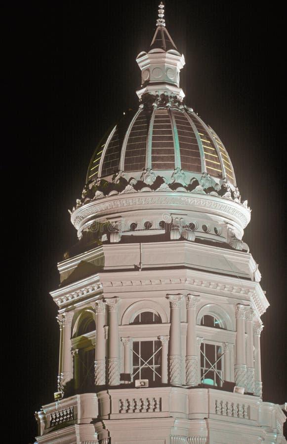 Капитолий Вайоминга стоковые фото