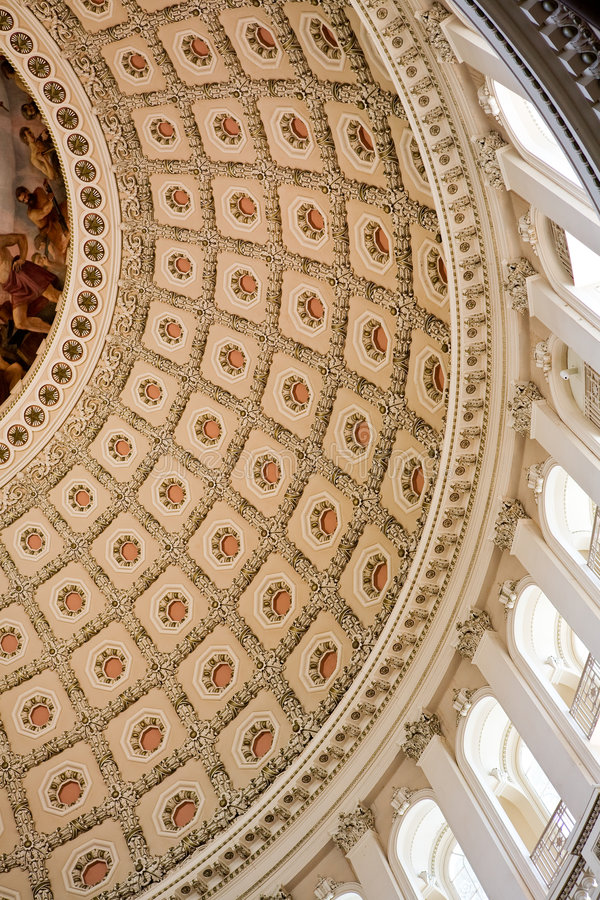 капитолий здания rotunda стоковые изображения rf