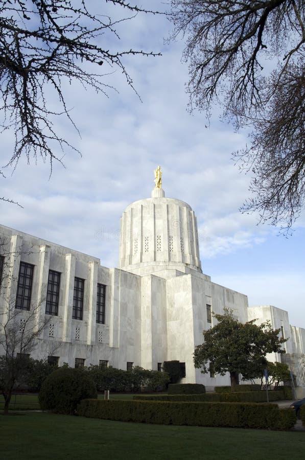 капитолий Орегон здания стоковые изображения rf