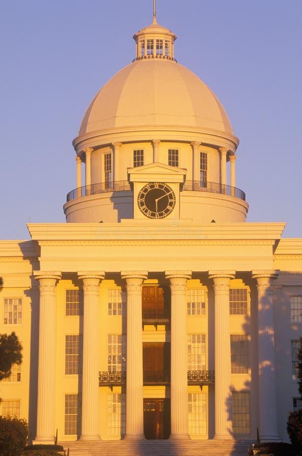 Капитолий положения Алабамы стоковая фотография rf