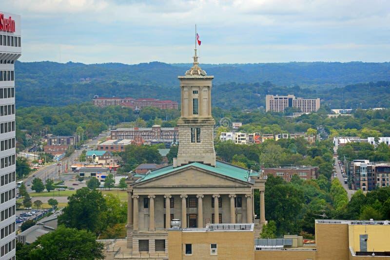 Капитолий положения Теннесси, Нашвилл, TN, США стоковое фото
