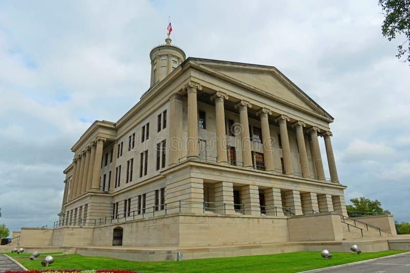 Капитолий положения Теннесси, Нашвилл, TN, США стоковые фотографии rf
