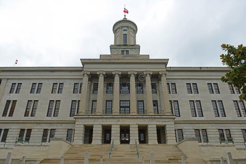 Капитолий положения Теннесси, Нашвилл, TN, США стоковая фотография rf
