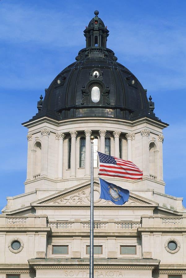 Капитолий положения South Dakota стоковая фотография
