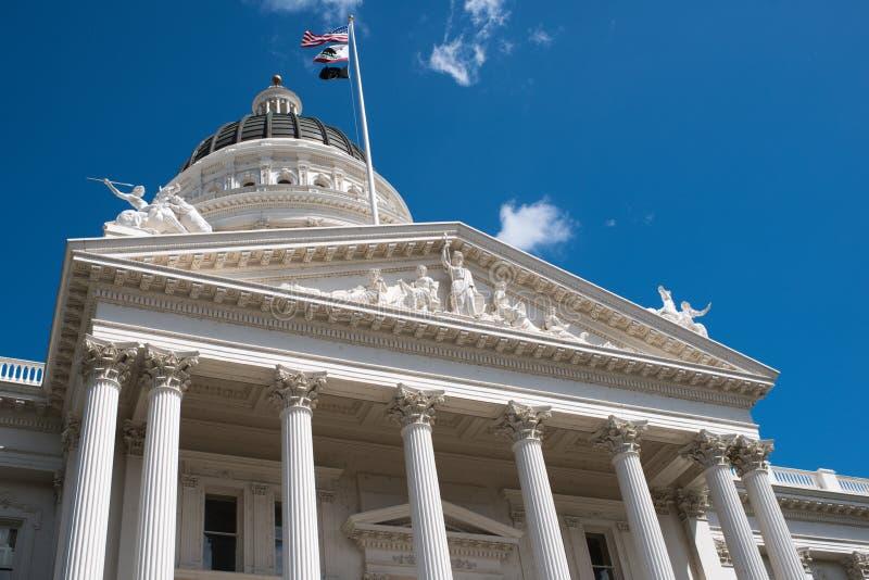 Капитолий Сакраменто Калифорния стоковое фото rf