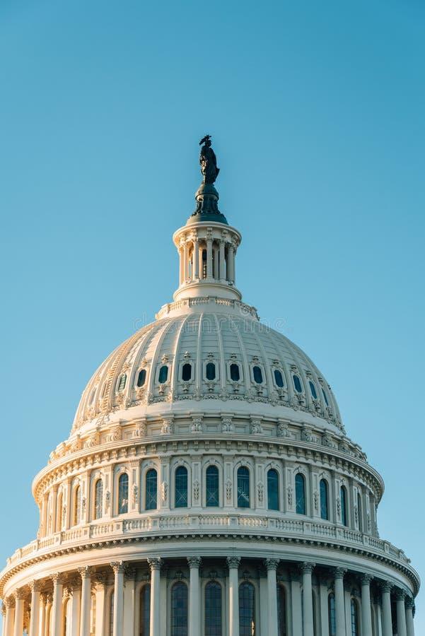 Капитолий Соединенных Штатов, в Вашингтоне, DC стоковые изображения