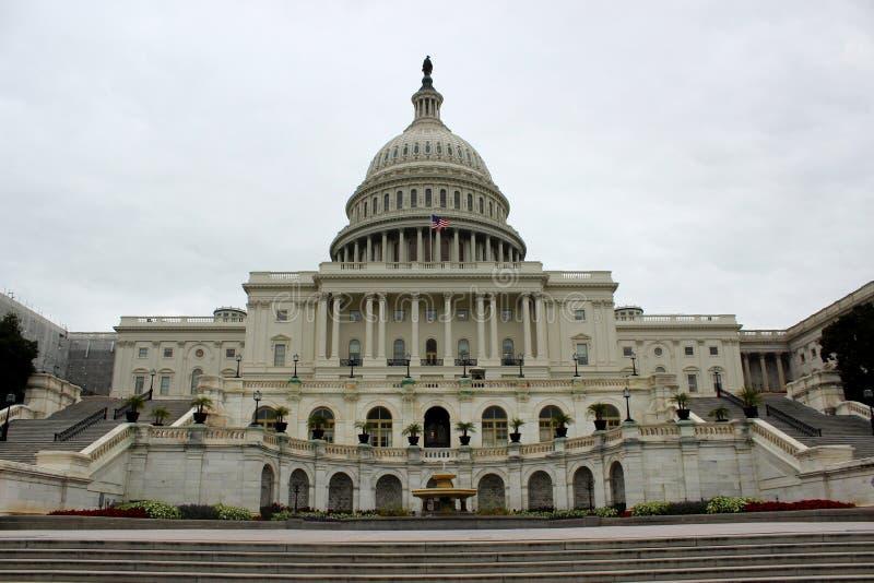 Капитолий строя Вашингтон Соединенные Штаты Америки стоковые фотографии rf