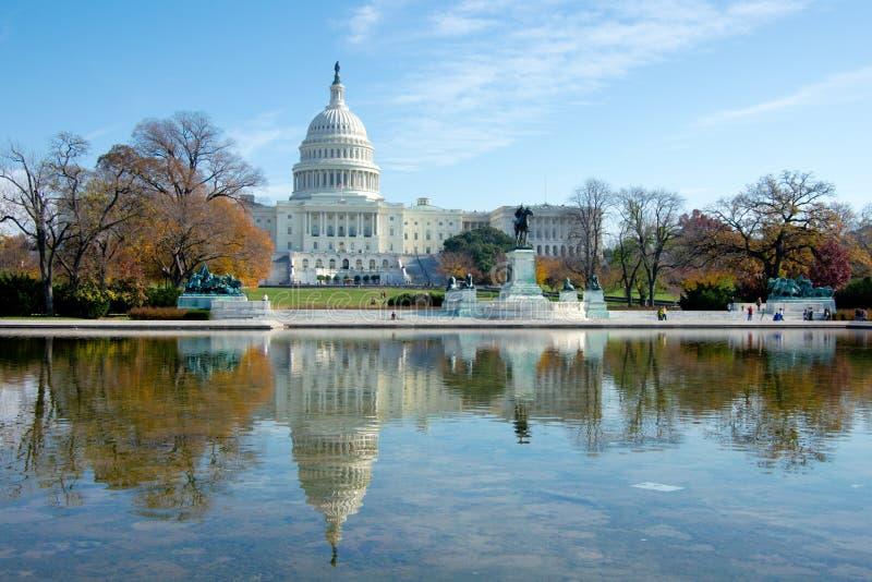 капитолий США здания стоковое изображение rf