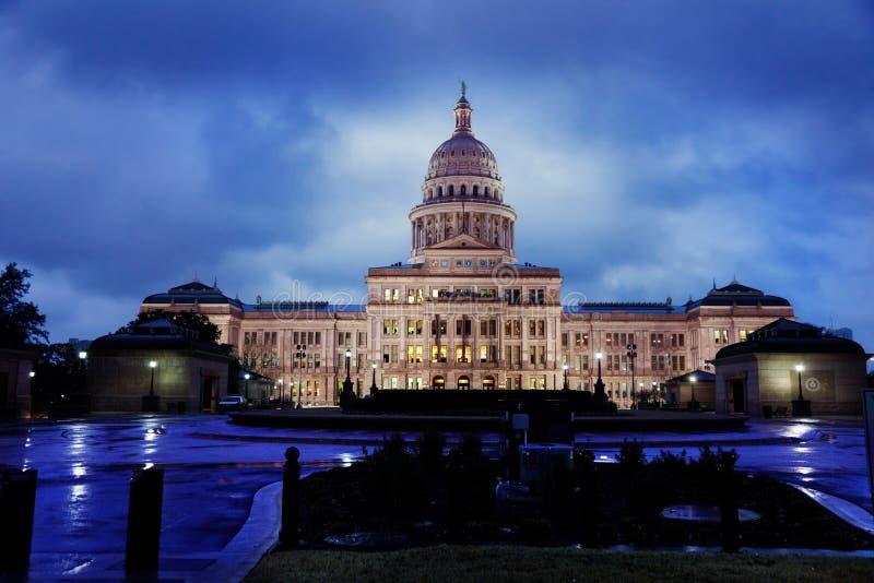 капитолий texas austin стоковые изображения