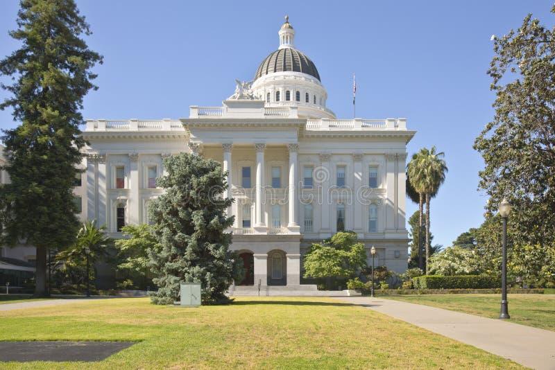 Капитолий положения Сакраменто и парк Калифорния стоковое изображение