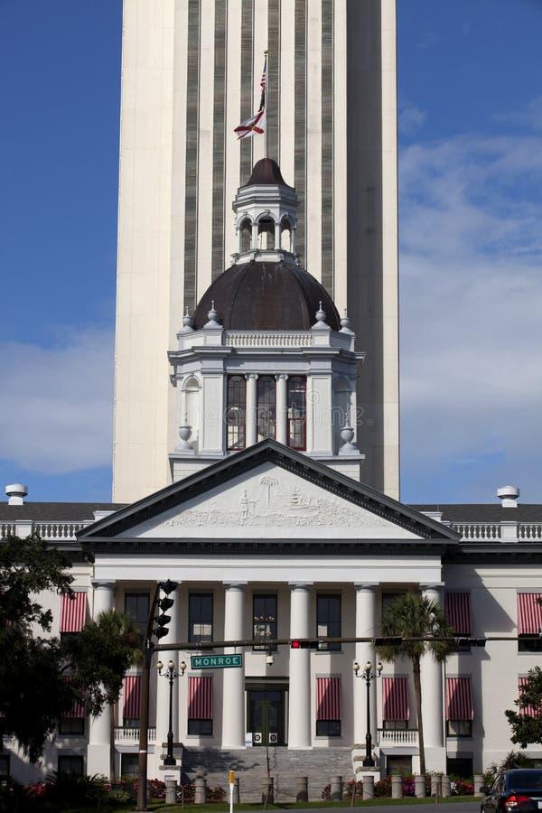Капитолий положения Флориды стоковые изображения rf