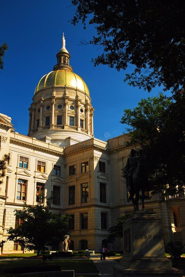 Капитолий положения Georgia, Атланта стоковые фотографии rf