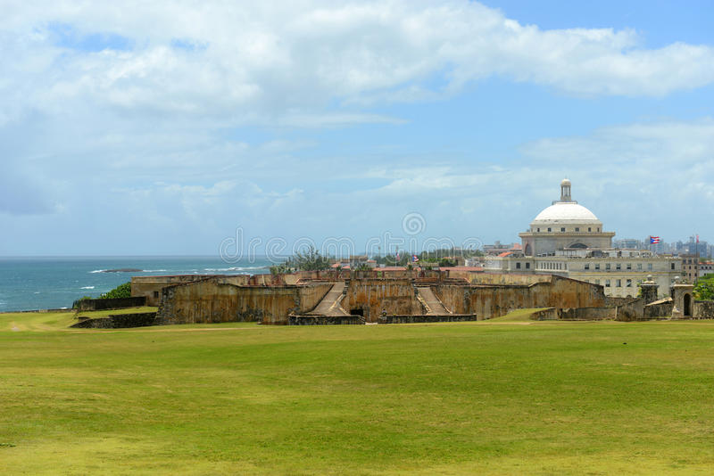 Капитолий Пуэрто-Рико, Сан-Хуан, Пуэрто-Рико стоковое фото rf