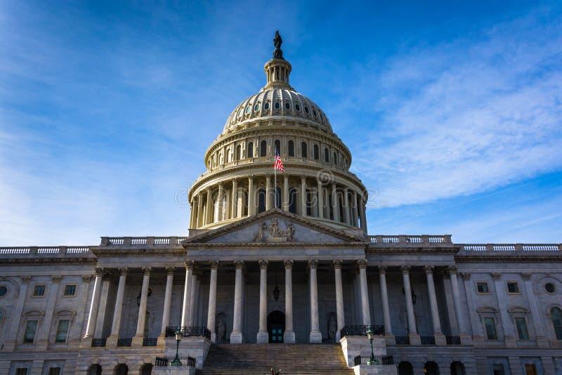 Капитолий Соединенных Штатов, в Вашингтоне, DC стоковое изображение