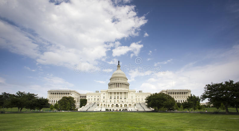 Капитолий США в d.c. Вашингтона. стоковое фото