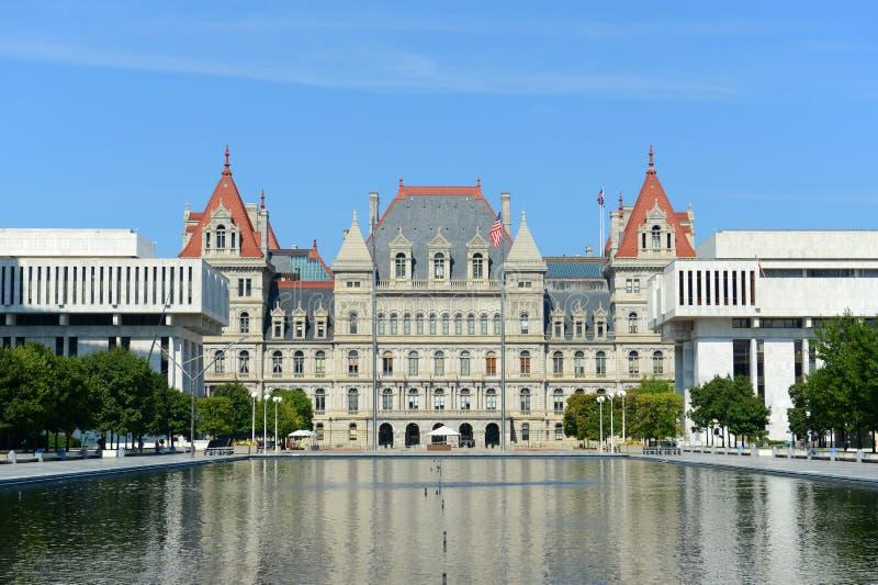 Капитолий штат Нью-Йорк, Albany, NY, США стоковое изображение