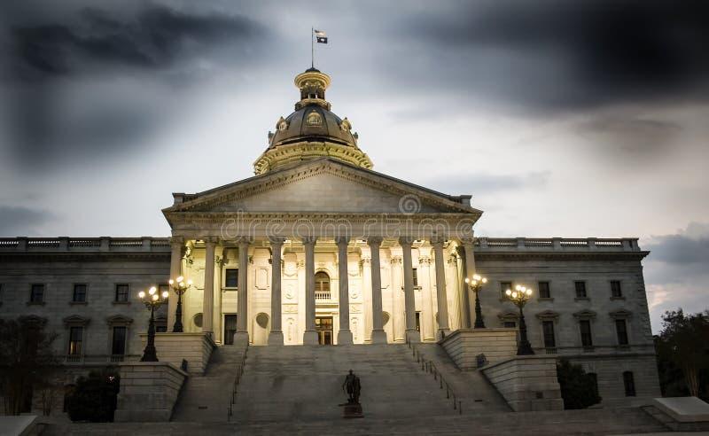 Капитолий Южной Каролины стоковое изображение