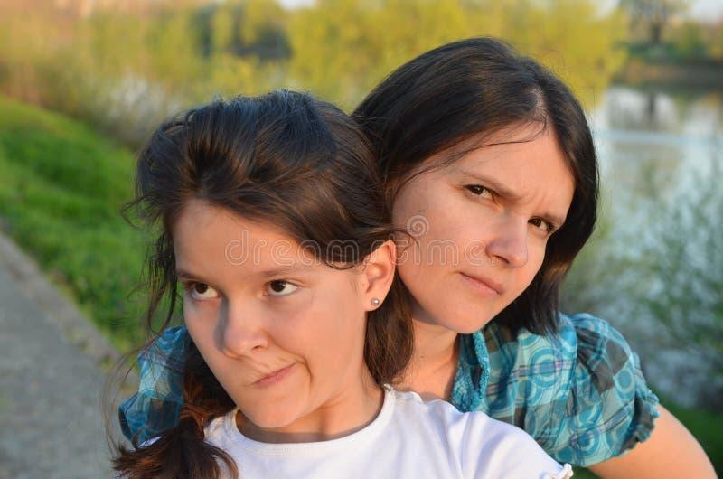 Капризное предназначенное для подростков стоковая фотография