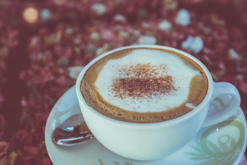 Капучино или кофе latte стоковая фотография rf