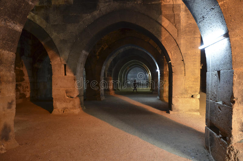 Караван-сарай Хана султана стоковые изображения rf