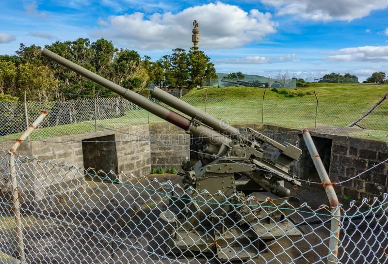 Карамболь войны в острове Terceira стоковое изображение