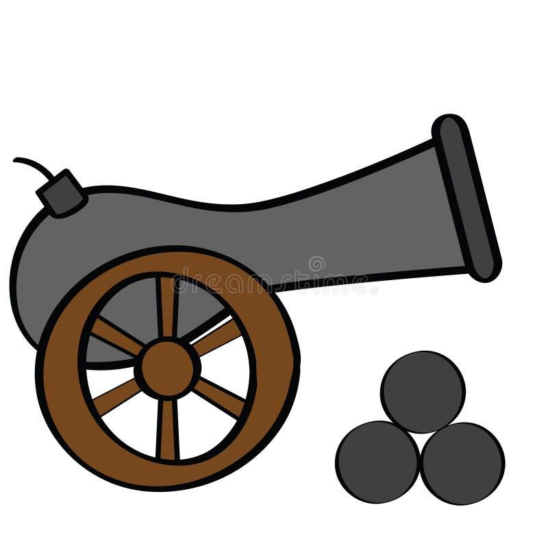 карамболь иллюстрация вектора
