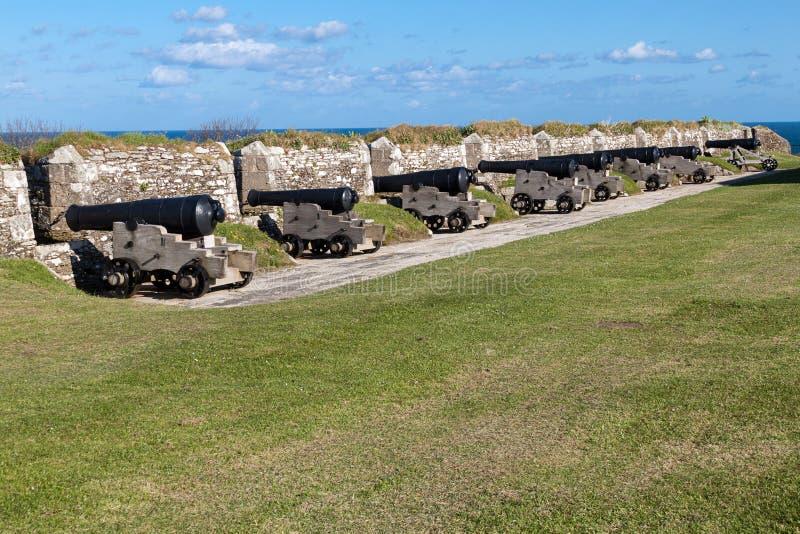 Карамболи на замке Pendennis стоковые фотографии rf