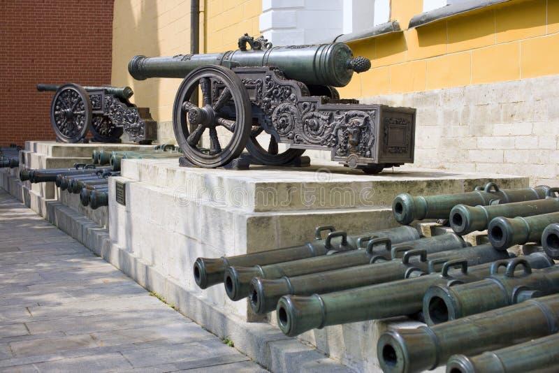 Карамболь Москвы Кремля старый бронзовый стоковые фото