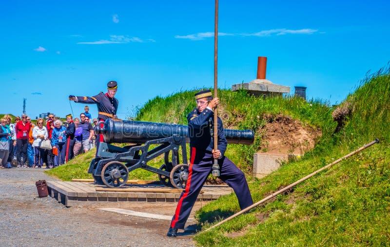 Карамболь на цитадели, Halifax, Нова, Шотландия стоковая фотография